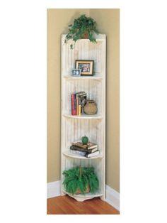 Heritage Tall Corner Shelf