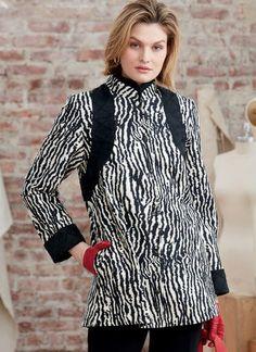 V1592   Misses' Coat Dress and Top   Vogue Patterns