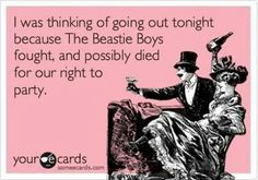 Beastie boys not only rapped but were also considered lyricist and great poets to my generation.  Their songs gave rap a new meaning of getting the word out there and speaking your mind.
