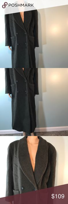 Vintage Christian Dior Vintage over coat. Size 14 22 inches across chest  45 inches long   Wool coat Christian Dior Jackets & Coats