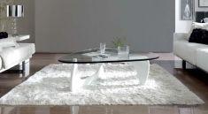 Salongbord: Modell PRISMA Hvit