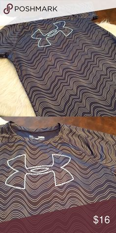 JUST IN🔶️GIRLS Under Armour Glitter Wick Tee NWOT. Smoke free, pet free home. SZ large. Fits like a 14/16 girls. Under Armour Shirts & Tops Tees - Short Sleeve