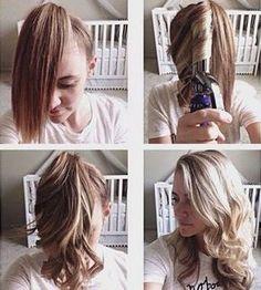 Прически с накрученными волосами в домашних условиях