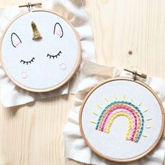 Diy Embroidery Patterns, Hand Embroidery Videos, Creative Embroidery, Simple Embroidery, Learn Embroidery, Hand Embroidery Stitches, Embroidery Hoop Art, Embroidery Techniques, Broderie Simple