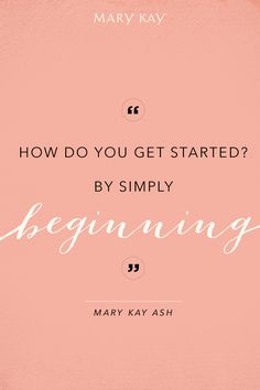We're all about new beginnings. Try a new shade or test a new application technique. It's time to experiment and do what makes you happy! | Mary Kay