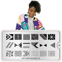 Moyou London Holy Shapes 06 - Ornate Deco Palettes Small
