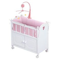 Badger Toys Doll Crib with Cabinet -- @ Target