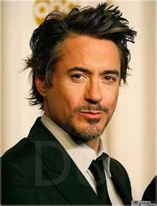 Robert Downey Jr. Hello, gorgeous. Love that he's puckering up o.0