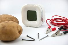 How to Make a Potato Clock: 9 steps (with pictures)