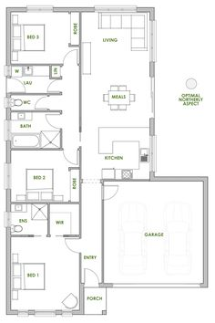 The Dillenia Offers The Very Best In Energy Efficient Home Design From  Green Homes Australia. Part 79