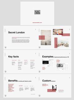 Presentation layout design - Diseño y maquetación de la presentación