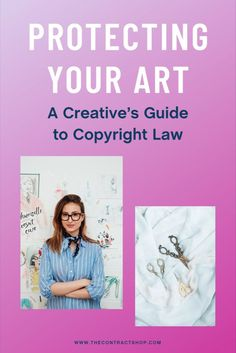 Okay, so we get the basic gist of copyright law — it protects a creator from having their work copied without their consent. But what kinds of work exactly does it protect? In this weeks video, we go into details about everything you need to know when it comes to copyright law and how it can apply to you and your business. How To Protect Yourself, The Creator, Copyright Law, Things To Come, How To Apply, Creative, Business, Store, Business Illustration