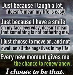 I choose to be that too!