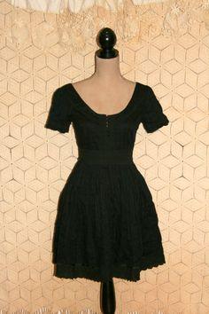 Black dress midi 8 pin