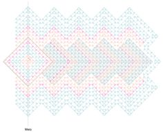 Receita Tapete Geométrico de Crochê