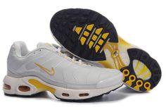 Nike Air Max TN Men Grey Yellow $79.90