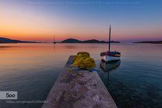 Sunrise in Maltezana beach 2 by GeorgePapapostolou #landscape #travel