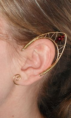 Elf ears tutorial. $10.00, via Etsy.