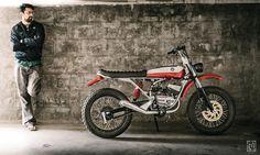 Yamaha RX-100 (Custom Scrambler) | Flickr - Photo Sharing!