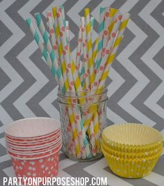 Pinwheel Birthday Party Decorations Package. $105.50, via Etsy.
