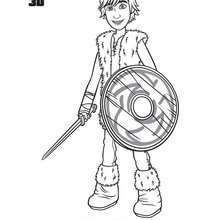 Free, Hiccup coloring page - Coloring page - MOVIE coloring pages - HOW TO TRAIN YOUR . printable coloring book pages, connect the dot pages and color by numbers pages for kids. Train Coloring Pages, Coloring Pages For Kids, Coloring Books, Tv Mantle, Dragons, Kids News, Dragon Coloring Page, Dragon Illustration, How To Draw Steps