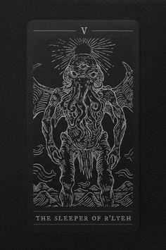 The Elder Tarot by Jan Pimping