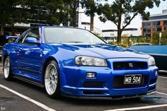Nissan Skyline GTR R34. Second favorite car in the world. Such a classic.