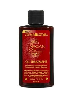 Creme Of Nature Oil Treatment With Argan Oil From Morocco: Helps Repair Dry, Damaged Hair Dry Damaged Hair, Dry Hair, Damp Hair Styles, Natural Hair Styles, Creme, Argan Oil Treatment, Luxury Cosmetics, Stop Hair Loss, Smooth Hair