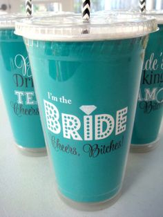 Bachelorette Party Bride's Drinking Team and I'm by Celebr8tions