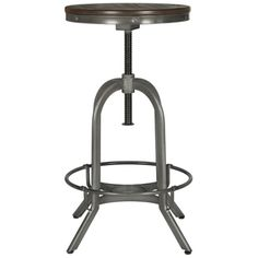 Shop for Safavieh Wildomar Weathered 24-34 Inch Adjustable Oak Stool. Get free…