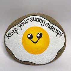 35 Awesome Painted Rocks Quotes Design Ideas - Steine bemalen - Painting Tips Rock Painting Patterns, Rock Painting Ideas Easy, Rock Painting Designs, Paint Designs, Rock Painting Ideas For Kids, Creative Painting Ideas, Paint Ideas, Creative Ideas, Pebble Painting