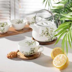 Šálka s podšálkou Natura 250ml    #keramika#hrnceky#kava#kuchyna#jedalen Sugar Bowl, Bowl Set, Kitchen, Cooking, Kitchens, Cuisine, Cucina