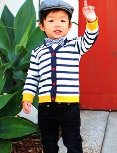 @Carrigan McCatty, whether you adopt him, or find a baby daddy, you need this child. and this outfit for him. so damn adorable :)