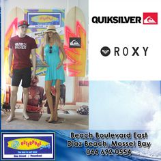 Come and check out our #Quiksilver and #Roxy clothing in store. Roxy for the ladies and #Quiksilver for the guys. #roxy #quiksilver #ladies #men