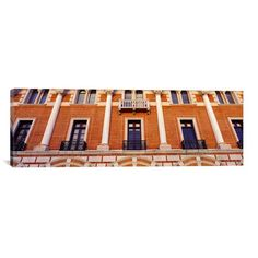 "East Urban Home Panoramic 'Rice University, Houston, Texas' Photographic Print on Canvas Size: 24"" H x 72"" W x 1.5"" D"