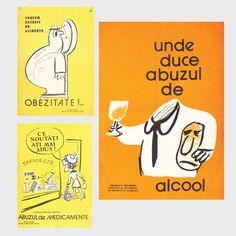 21 dintre cele mai amuzante afișe comuniste din România lui Ceaușescu - VICE My Childhood, Romania, Mai, Humor, Comics, My Love, Retro, Mid Century, Posters