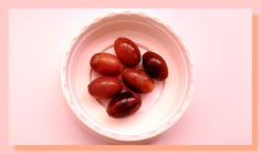 6 perles bois vernis de 15 x 10 mm de forme olive : Perles en Bois par chely-s-creation