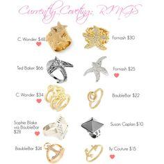 Currently Coveting: RINGS