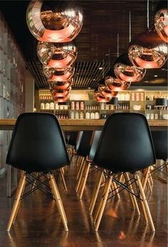 Amazing classic combination - Cooper Shade / Eiffel DSW - Tom Dixon / Charles & Ray Eames