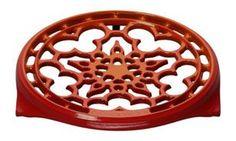 Le Creuset cast iron trivet