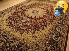 #homefurniture #This rug is very nice and the size is 8'x11'. You will receive a #brand new one in plastic. We are asking the lowest price. Similar rugs are sold ...