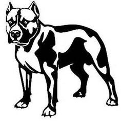 Pit Bull Dog Window Decal by Adsforyou on Etsy, $3.45