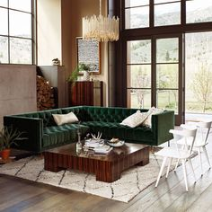 Sectional Seating - 15 Surprising Decorating Ideas From Anthropologie's New…