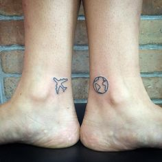 Globe Tattoo Ideas | POPSUGAR Smart Living