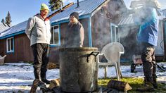 On tonight's NEW Bizarre Foods Andrew travels into Alaska's Copper River Valley to the village of Chistochina.