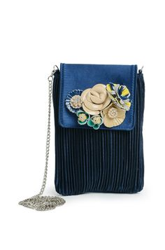 Midnight Blue Sling Bag Rs. 1800/- http://www.juvalia.in/collection/cocktail-closet/the-bag-brigade/midnight-blue-sling-bag.html
