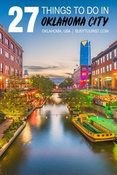 Wondering what to do in Oklahoma City? Here you will find the top attractions, best activities, places to visit & fun things to do in Oklahoma City. Start planning your itinerary & bucket lists for OKC now! Oklahoma City Things To Do, Oklahoma City Zoo, Travel Oklahoma, Oklahoma Sooners, Oklahoma Tourist Attractions, Edmond Oklahoma, Usa Travel Guide, Travel Advice, Travel Usa