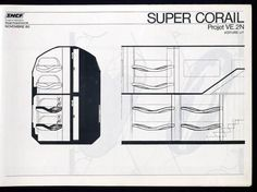 """Un projet mort-né : les """"Super Corail"""" à deux étages - Matériel roulant ferroviaire - Le Web des Cheminots"""