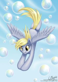 Flying Through Bubbles by LaurenMagpie on DeviantArt