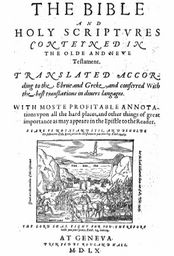 Pdf 1560 geneva bible